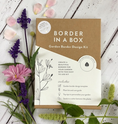 Border in a Box contemporary garden design kit