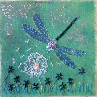 Tigley Textiles dragonfly