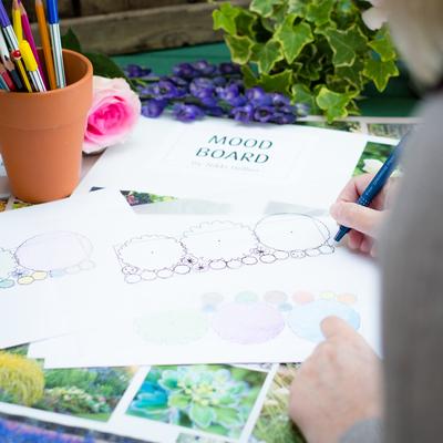 personal garden border design