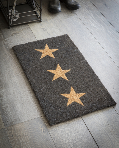 star doormat Garden Trading