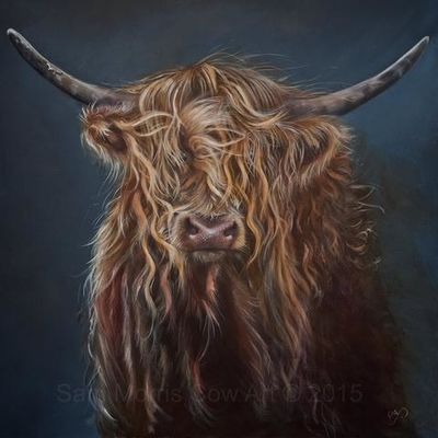 samantha morris cow art