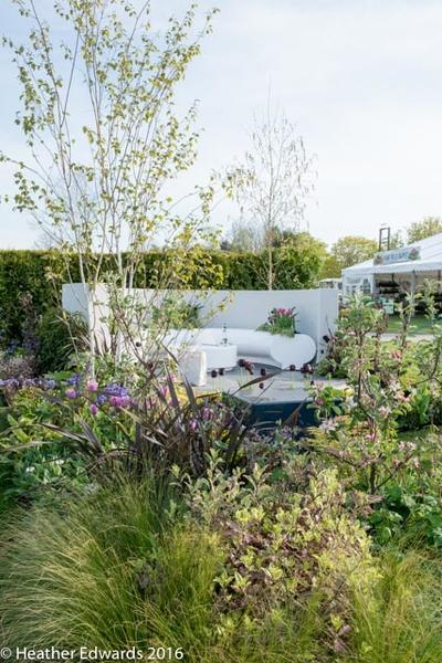 Show garden by Nikki Hollier