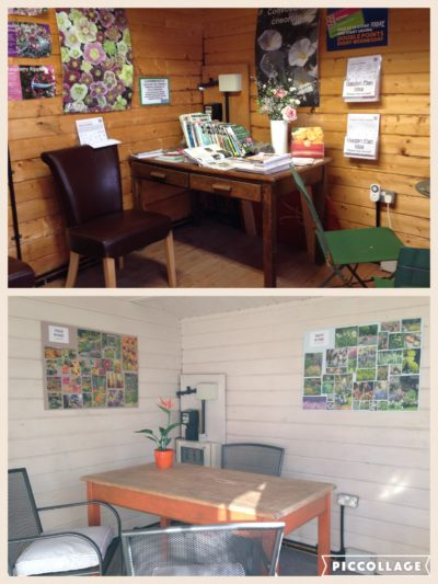 interior garden design studio at St Peters Garden Centre
