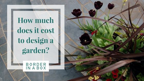 How much does a garden design cost