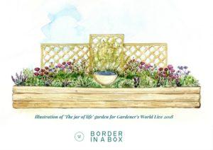 Designing a show garden border at Gardener's World Live 2018