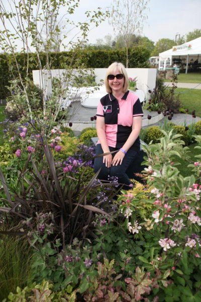 Nikki Hollier garden designer RHS Malvern 2016