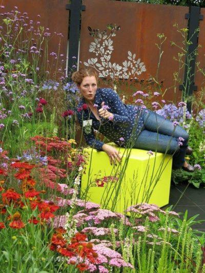 Charlie Bloom garden designer