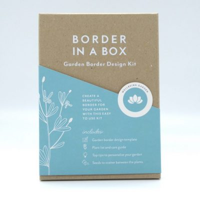 Border in a Box Wellbeing sensory planting plan