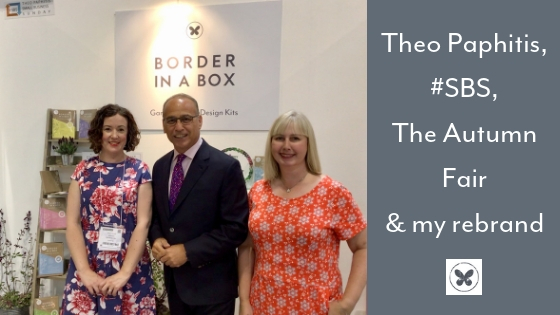 Theo Paphitis, Nikki Hollier, Nancy Poller, #SBS Autumn Fair