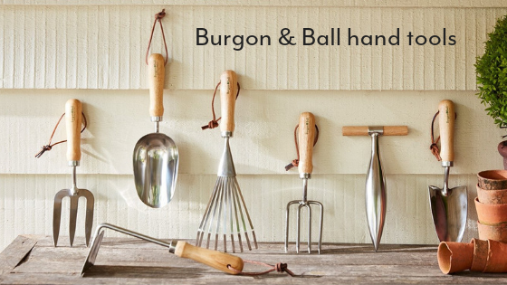 Burgon and Ball gardening tools