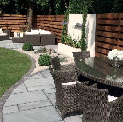 Digby Stone patio paving
