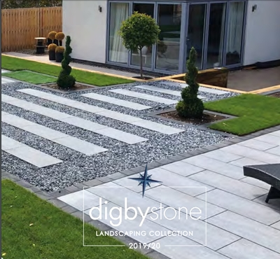 Digby Stone  grey paving
