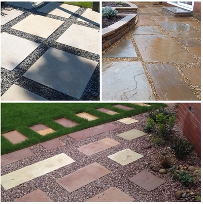 Pip Probert Outer Spaces patio paving