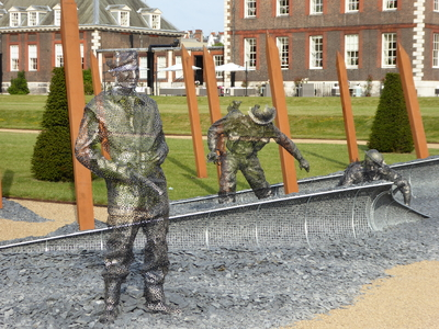 RHS Chelsea D Day sculpture