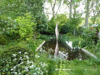 RHS Chelsea David Harber Savills garden