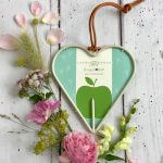 heart shaped bird feeder Burgon & ball