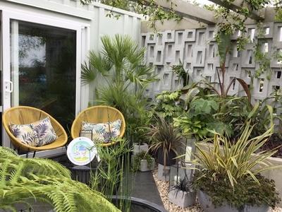 RHS Malvern Defiance show garden