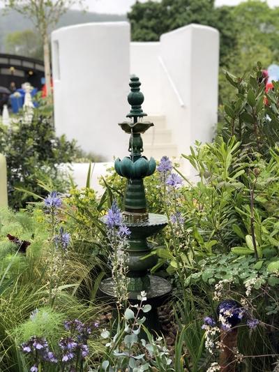 Macmillan show garden RHS Malvern 2019