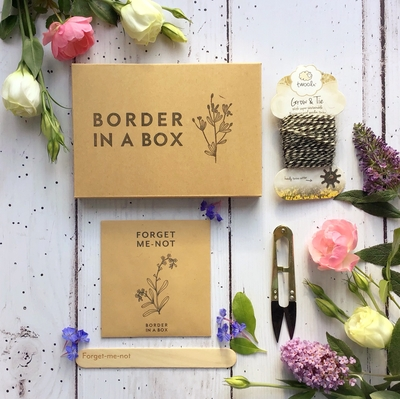 memorial seeds snippers twine gift box