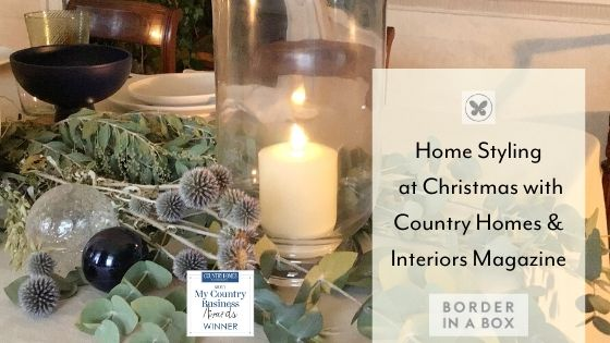 home styling at christmas country homes interiors magazine