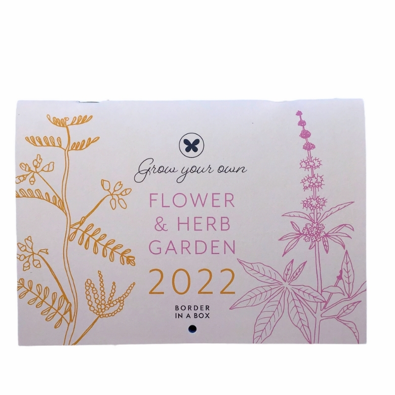 2022 flower and herb calendar