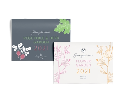 2021 calendar vegetable flower