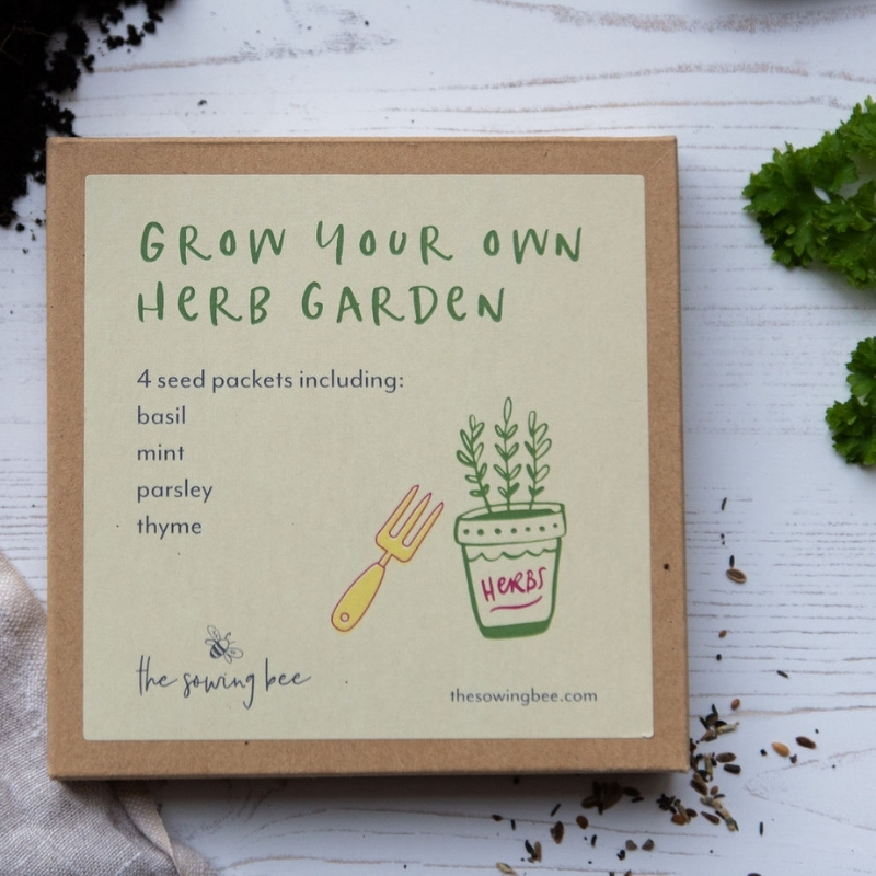 TSB Grow your own herbs box