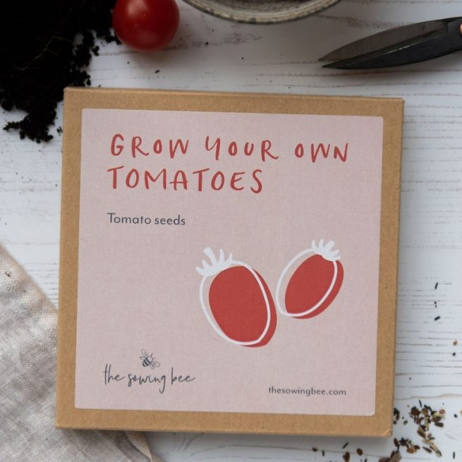 The Sowing Bee grow your own tomatoes box