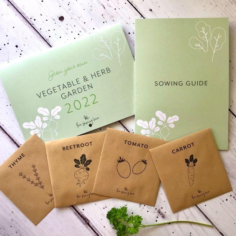 Veg calendar sowing guide 2022