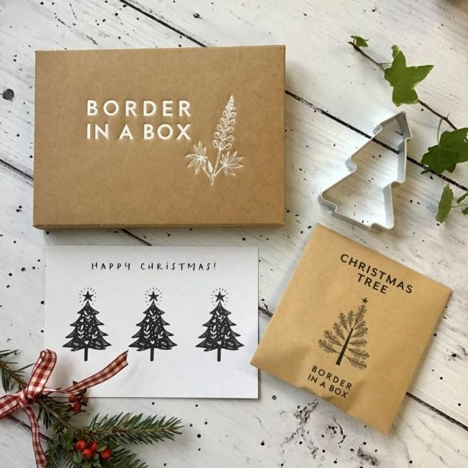christmas shortbread gift box